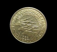 FRENCH EQUATORIAL AFRICA CAMEROON 5 FRANCS 1958 KM 10 #5190#