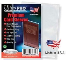 500 ULTRA PRO PLATINUM PREMIUM CARD SLEEVES