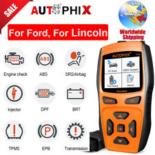 OBD2 Auto Scanner Engine ABS SAS EPB Transmission Car Diagnostic Tool For Ford