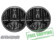 "Rigid Industries Truck-Lite Heated 7"" Round LED Headlight Kit Black Non-JK 55008"