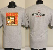 House of Blues Las Vegas Gospel Brunch T-shirt XL God Mercy Folk Art Sin City