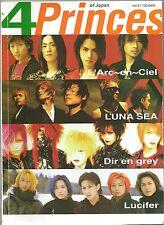 1990s L'Arc-en-Ciel LUNA SEA Dir en Grey LUCIFER THAI SP Magazine Book MEGA RARE