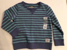 Oshkosh Toddler Boys Pullover Striped Sweatshirt...