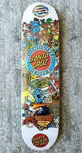 Santa Cruz 30th Anniversary Dealer Clock Deck Rare Skateboard NOS Rare