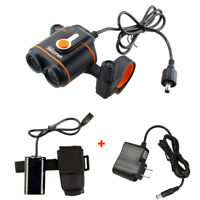 10000LM Cycling Head Front Bicycle Light Bike Headlight Rechargeable Battery Set