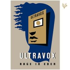 Ultravox - Rage in Eden - New 2CD Album - Pre Order - 26th January