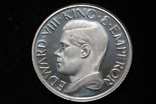 EDWARD VIII 1936 SILVER PROOF PATTERN CROWN  - St George and the dragon