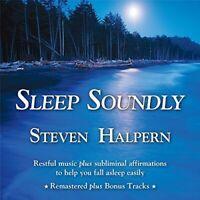 Steven Halpern - Sleep Soundly: Restful Music Plus Subliminal [New CD]