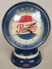 More details for pepsi cola vintage 1999 mini gasoline globe light up navy blue working 20cm