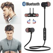 Magnetic Headphones In-Ear Bluetooth Stereo Earphones Headset Wireless Earbuds