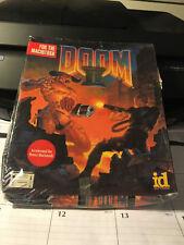 DOOM II 2 CD ROM FOR MAC NEW AND SEALED IN BIG BOX