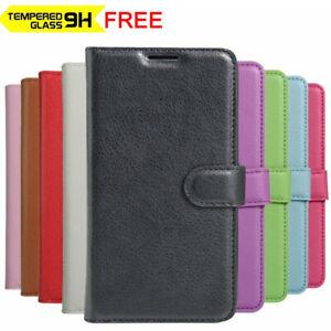 For Oppo A53S A15 A52 A54 A74 A9 2020 AX5S AX7 Premium Leather Wallet Flip Case