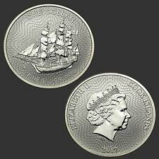 1 oz 999 Silber Silbermünze Cook Islands 2017 Gekapselt