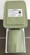 C Band ONE Cable Solution Satellite TV LNB 5G Filter  NO Mosaic  TV 清除卫星电视马赛克