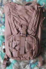 NEW EAGLE INDUSTRIES US MARINES/USMC FILBE COYOTE TAN HYDRATION PACK/CAMELBAK.