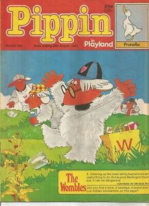 Pippin in Playland #883 : August 1983 : Vintage UK Comic Book.