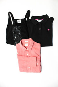 J Crew Lilly Pullitzer Womens Button Down Shirt Tank Tops Size Small Lot 3