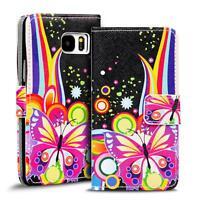 Motiv Tasche Samsung Galaxy S7 Flip Case Schutz Hülle Handy Etui Wallet Cover