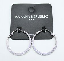 New Banana Republic CZ Tear Stud Earrings Gift Fashion Women Jewelry 2Colors FS