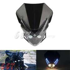 Street Fighter Head Light Fairing For Kawasaki EX 250 EX500 Ninja GPZ 636 ZX6R