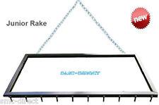 SMC Junior Sand School Rake Arena Leveler Gravel Drive Rake Manege Grader Harrow