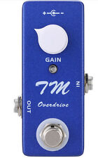 Mini TM Overdrive Guitar Effect Pedal True Bypass Based on Timmy Overdrive