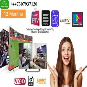 IP*TV 12mois Abonnement 🔥 Smarters pro 🔥 (✔️M3U✔️SMART TV✔️ANDROID✔️MAG & IOS)