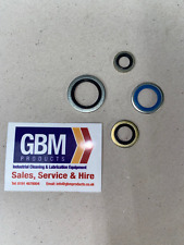 """Bonded Seal Washers IMPERIAL- Dowty Washer Sealing Sizes 1/8"""" - 1/2"""" BSP"""