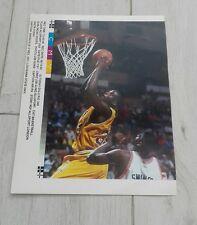 514) Shaquille O'Neil Louisiana state university basketball  press print photo