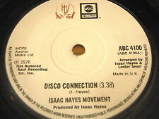 """ISAAC HAYES MOVEMENT - DISCO CONNECTION    7"""" VINYL"""