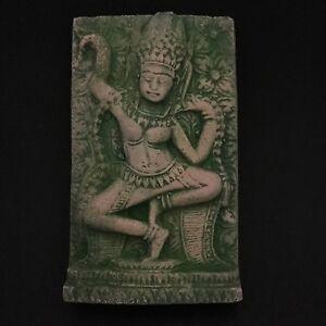 Apsara Dancing Sculpture Statue Sandstone Angkor Wat Statue Khmer Cambodian Art