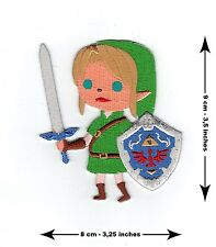 The Legend Of Zelda Link - Cute Embroidered Patch - BRAND NEW