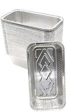 240 Pack*  (Surplus) Aluminum Foil 2-LB Bread Loaf Pans Size 8.5