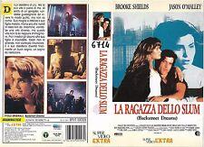 LA RAGAZZA DELLO SLUM (1990) vhs ex noleggio
