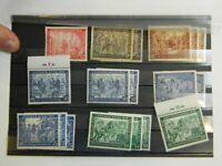 Briefmarken Steckkarte Leipziger Messe 1947 1948  K-2483