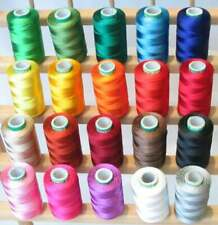 30 Spools of Silk Thread, Silk thread,spools of thread Indian Art Silk Embroider