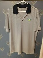 NIKE Dallas Wings Navy Striped Polo MENS Size Large L
