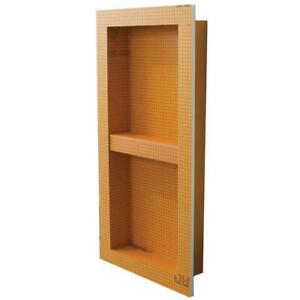 "Schluter Kerdi-Board Shower Niche - 12"" x 28"" w/ Shelf"