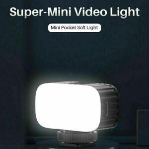 Ulanzi VL30 5600K LED Video Fill Light Rechargable On Camera for Gopro 9 8 7 6 5