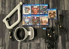 PlayStation 4 VR Bundle w/ Aim Controllers, Headset PSVR PS4