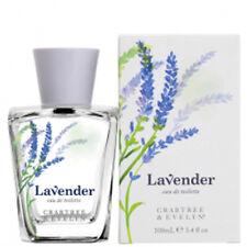 Crabtree & Evelyn Lavender Eau de Toilette Fresh Floral Perfume 3.4 oz NIB Rare