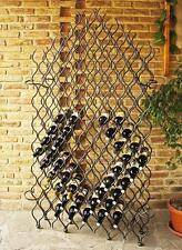Botellero para vino de metal hierro forjado 190cm Gran FEU 127 soporte botellas