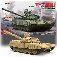 MENG RUSSIAN T-72B1 MAIN BATTLE TANK MODEL KIT TS-033