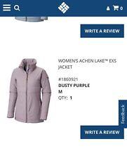 NWT Columbia Women's SZ M Achen Lake EXS Jacket Coat Winter Purple NWT