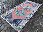 Carpet, Turkish, Wool, Vintage rug, Handmade rug, Area rug | 3,3 x 6,4 ft