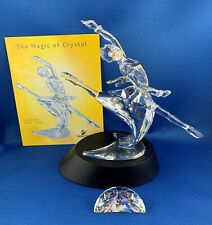 Swarovski Crystal Figurine 2004 Magic of Dance Anna w/ Base Plaque and COA