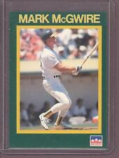 1989 STARLINE PROMO Mark McGwire ATHLETICS Starline