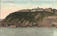 Thwe Citadel ,Quebec, Canada. Year 1913.  Vintage Postcard