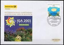 BRD 2003: IGA Rostock! FDC der Nr 2335 mit Berliner Sonderstempel! Gut erhalten!