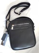 Sacoche sac pochette en bandoulière KATANA en cuir de vachette neuf